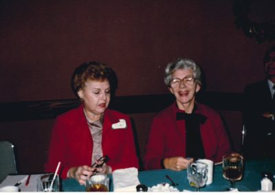 1983 Founder Marion Mason with Bernice Dean