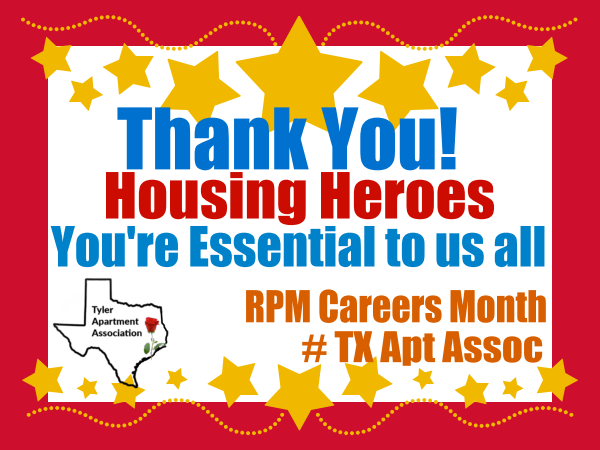 Housing Heroes-                   You are essential to us all!
